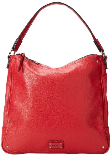 Nine West Double Vision Medium 60288470 Hobo,Dark Lip,One Size, Bags Central