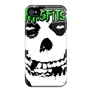 Perfect Cell-phone Hard Cover For Iphone 6 (AXF8671RThx) Support Personal Customs Trendy Green Misfits Pattern
