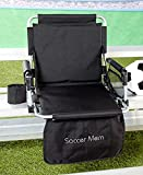 Sports Mom Rhinestone Stadium Seats - (Soccer)