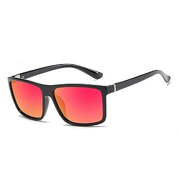 CCGSDJ Gafas De Sol para Hombre Polarizadas Gafas Cuadradas ...