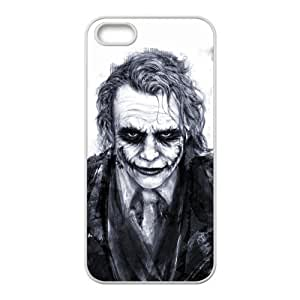 Batman The Joker Why so Serious Handsome Unique Apple Iphone 5 Durable Hard Plastic Case Cover Personalized Treasure DIY