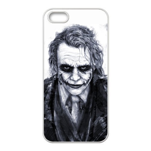 [Batman The Joker Why so Serious Handsome Unique Apple Iphone 5 Durable Hard Plastic Case Cover Personalized Treasure] (Movie Costume Ideas For Men)