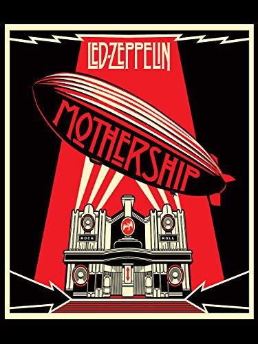 "Kopoo Led Zeppelin Poster Mothership Poster, 12"" x 18"" (297 x 450 mm)"