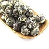 Tao Tea Leaf Organic Jasmine Dragon Pearls Green Tea, 50g Premium Chinese Loose Tea Blend