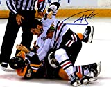 Andrew Shaw Autographed Signed Chicago Blackhawks Stanley Cup Fight 8x10 Photo Photograph