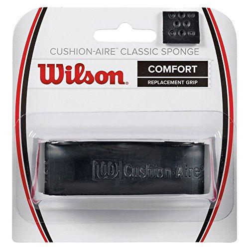 Wilson Sponge - Wilson Classic Sponge Tennis Racquet Replacement Grip, Black