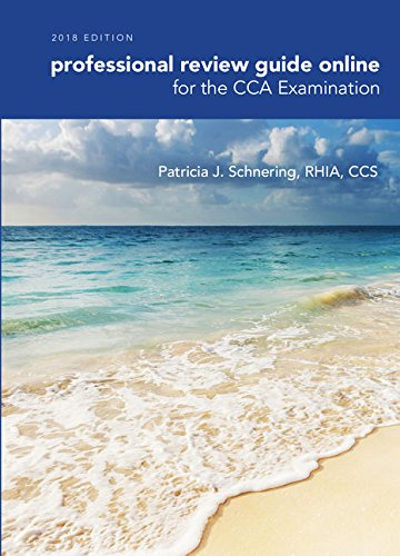 Schnering's Professional Review Guide Online for the CCA Examination, 2018, 2 terms Printed Access Card