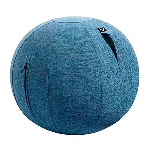 【返品不可】 シーティングボール 洗濯可 安全設計 バランスボール エクササイズボール ファブリック ルーノ シェニール 耐荷重 120kg おしゃれ インテリア すべり止め ダイエット 軽量 トレーニング 洗濯可 ファブリック 安全設計 プレゼント [チャコールグレー] B07MNLCBRC ブルー シェニール(ファブリックカバー) シェニール(ファブリックカバー)|ブルー, 職人魂:9e79ba3b --- arianechie.dominiotemporario.com