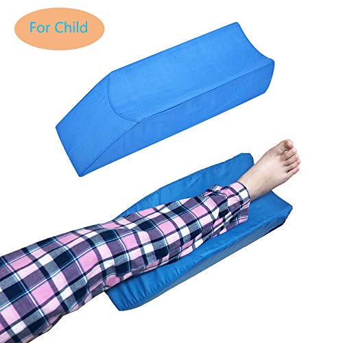 Elevation Pillow Foam Wedge Leg Post Surgery Elevated Pillows Ortho Cushion Riser for Knee Ankle Support Rest Legs Bolster Elevator Elevating Cushions Elevate Feet Protector After Surgical Recovery