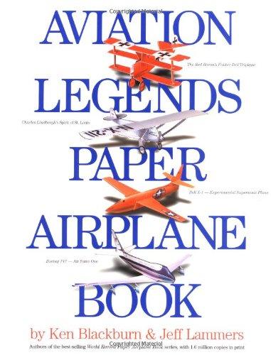 Download Aviation Legends Paper Airplane Book ebook