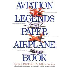 Aviation Legends Paper Airplane Book