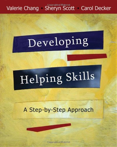 By Valerie Nash Chang - Developing Helping Skills: A Step-by-Step Approach (with DVD): 1st (first) Edition