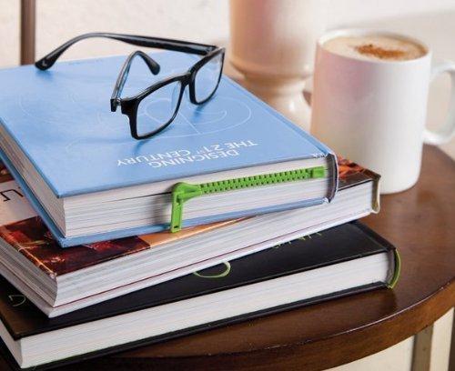 Peleg Design Green Zipmark ZIPPER Bookmark Book Page Holder by Peleg Design Office Product
