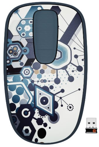 Logitech T400 Zone Touch Mouse for Windows 8 - Fusion Party
