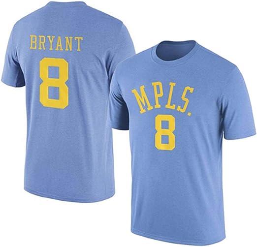 HYYSH Kobe Bryant Lakers 8 Uniforme de Baloncesto Retro Camiseta ...