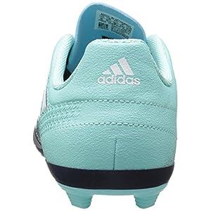 adidas Performance Boys' Ace 17.4 FxG J, Energy Aqua/White/Legend Ink, 11.5 Medium US Little Kid
