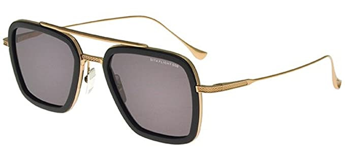 DITA FLIGHT 006 GAFAS DE SOL DRX 7806 B MATTE BLACK-GOLD CON ...