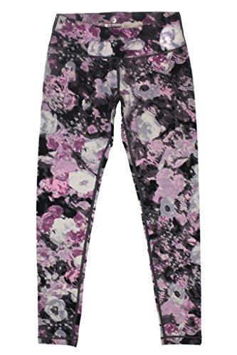 fc145007c7 90 Degree by Reflex Activewear Yoga Pants - Peachskin Brushed Printed  Leggings Print 289 SPLITTED ROSE