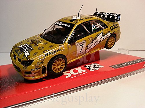 Slot SCX Scalextric A10050X300 Subaru Impreza WRC McRae / Grist Nº7