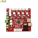 Anet V1.5 Replacement Self Assembly 12V - 24V Control Board Mainboard Mother Board for DIY Auto Levelling Anet A8 3D Desktop Printer RepRap i3 Kit - 1PCS