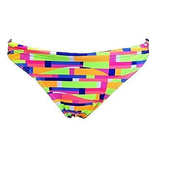Turbo - Bikini COLORWAVES Patrón de Ajuste Cómodo Doble Capa: Amazon.es: Deportes y aire libre