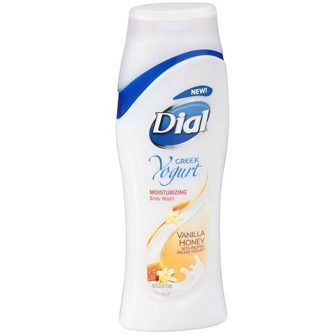 Dial Nourishing Body Wash, Greek Yogurt 16 Oz (Pack Of 3) by Dial
