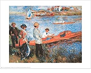 Pierre-Auguste Renoir – Remeros en el Chateau Artistica di Stampa (76,20 x 60,96 cm)