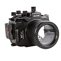 Fotga 40M Waterproof Underwater Camera Housing Case for Sony A7II/A7RII 28-70mm Dslr Cameras