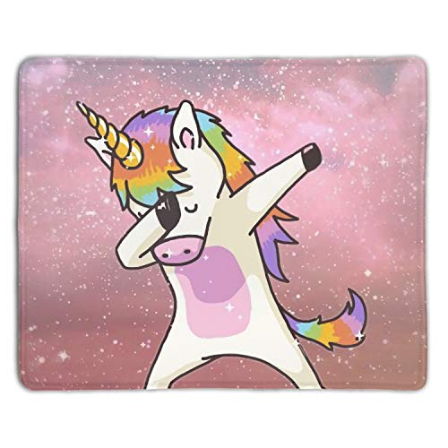 Mouse Pads Rock Unicorn Express Design Regular Computer Mouse Pad - 7.08(L)x 8.66(W) inch