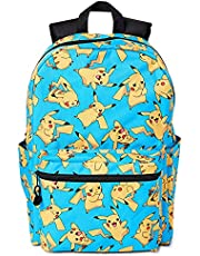 Pokemon Pikachu All Over Print 16 inch Backpack