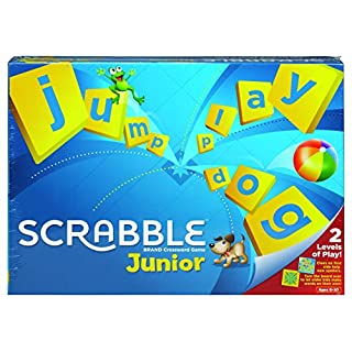 Mattel Games Scrabble Junior, Children Board Game from 6 Years