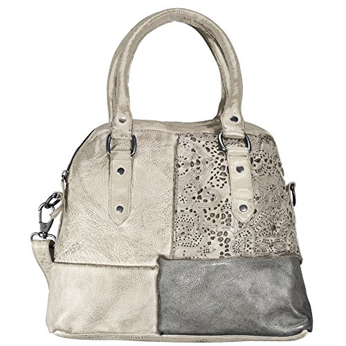Billy the Kid Culture-Mix Penelope borsa tote pelle 35 cm Clay