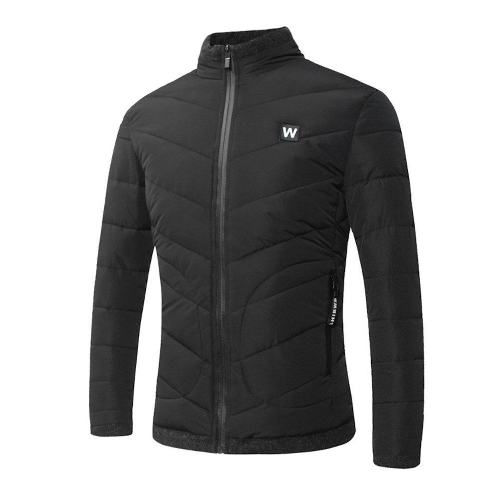Hgfjn männer - Mode Casual Baumwolle gepolsterte Winter Mode Stimmen überein,schwarz,XL