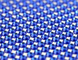 craft gems blue - CraftbuddyUS 1500 X 5mm Royal Blue Bulk Self Adh Rhinestones,stick on Gems,craft Vajazzale Wedding