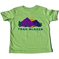"ZippyRooz Boys Toddler & Little Kids Hiking Camping Tee Shirt ""Trail Blazer"" ..."