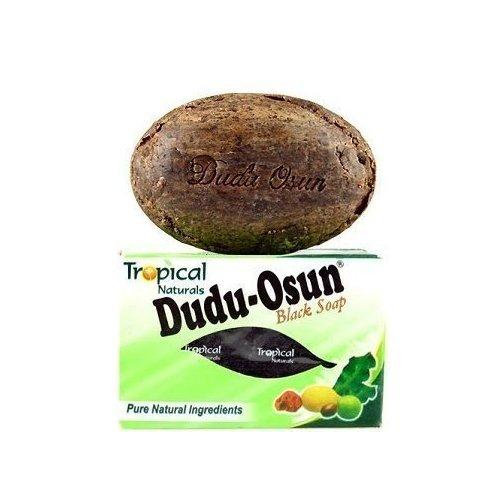DUDU-OSAN DUDU OSUN Black Soap 150 g African Soap Shea moisture Noir Honey Cocoa Aloe