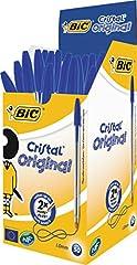 BIC 8373609 Cristal Medium, Blau