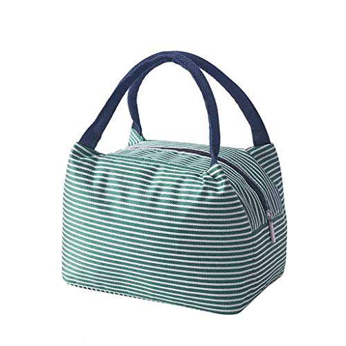 Insulated Lunch Bag for Women, Lunch Bag for Women Water-Resistant Womens Lunch Bag Lunch Tote Bag Insulated Lunch Bag with Shoulder Strap Bento Box -