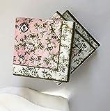 40ct Victorian Floral Napkins   Vintage Napkins