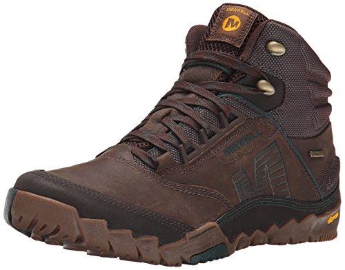 Merrell Mens Annex Mid Gore-Tex Boot Clay 11 M US