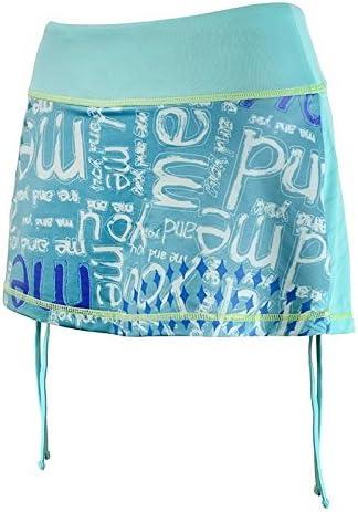 Desigual Damen Rock Fal-FR Falda Azul Azul Talla:Small: Amazon ...
