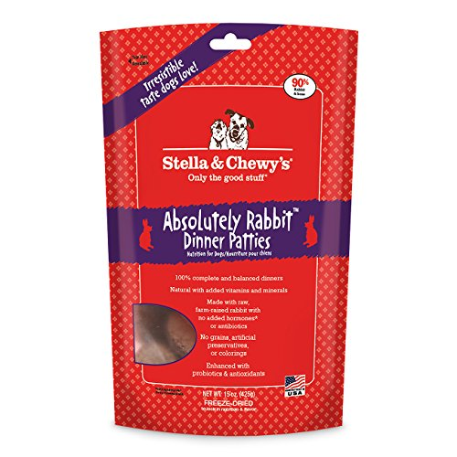 stella-chewys-freeze-dried-raw-absolutely-rabbit-dinner-patties-dog-food-15-oz-bag