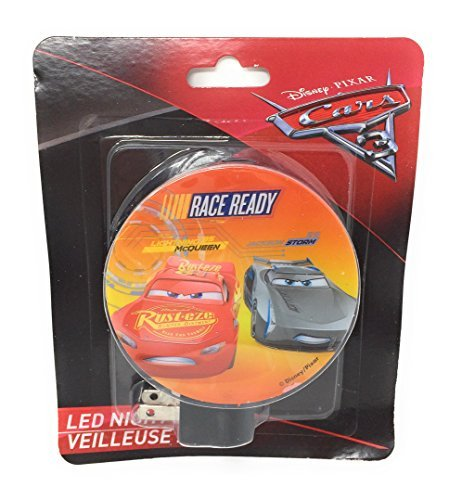 Disney PIXAR Cars 3 Race Ready LED Night (Cars Bedroom)
