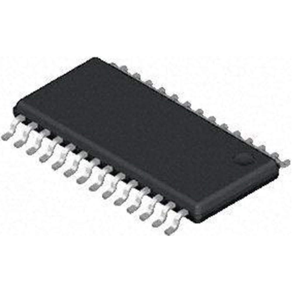 IC; MCU; nanoWatt; 8-Bit w/LCD Driver; Flash; 7KB; 5MIPS; 11-CH; 10-Bit A/D; SSOP-28, Pack of 20