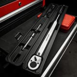 EPAuto 1/2-Inch Drive Click Torque Wrench,25-250