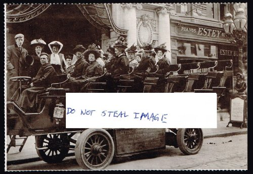 Electric Car In Front Of Keith's Chestnut Street Theatre Ca. 1900 Philadelphia ()