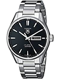 Men's WAR201A.BA0723 Analog Display Automatic Self Wind Silver Watch