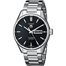 TAG Heuer Men's WAR201A.BA0723 Analog Display Automatic Self Wind Silver Watch