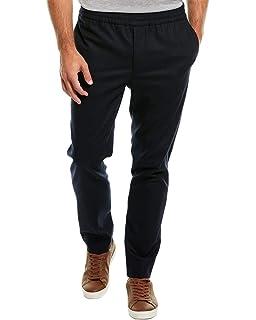 J.Lindeberg Mens Casual Italian Wool Flannel Pant