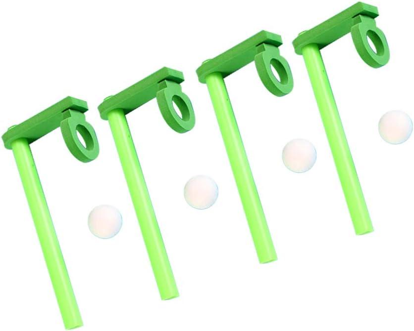 NUOBESTY Bolas de Tubo de Soplado Flotantes Que Soplan Juguetes Juguete de Equilibrio de Plástico para Niños Niños Niño 5 Piezas